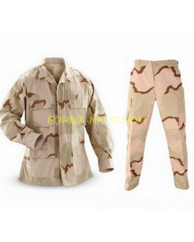 Костюм US BDU desert 3-color Rip Stop Мил Тес